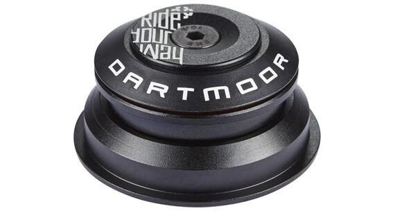 DARTMOOR Astro semi-geïntegreerd balhoofd zwart